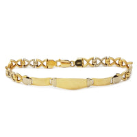 XO ID Yellow Gold Bracelet (18K)