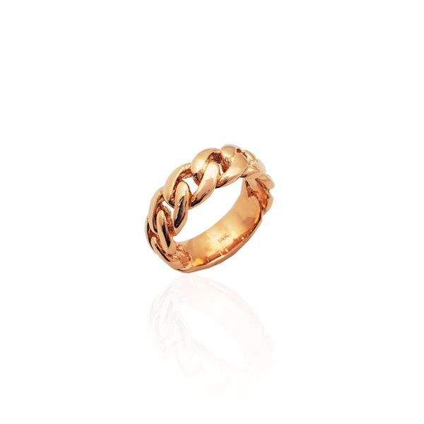 Cuban Link Band (14K)