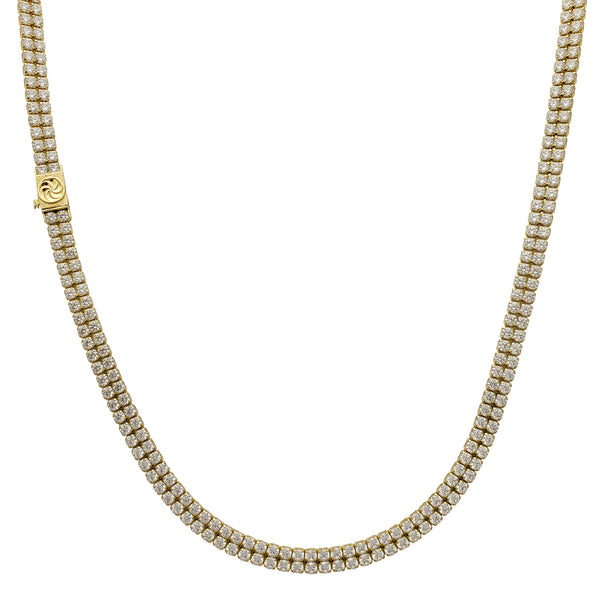 2-Row Tennis Chain (14K)