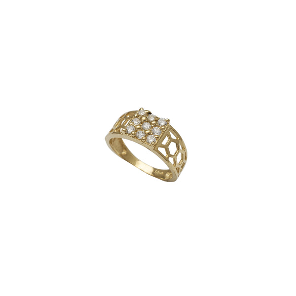Zirconia Baby Kid's Ring (14K)