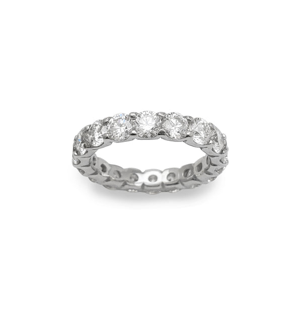 VS Diamond Eternity Wedding Ring (14K) Popular Jewelry New York