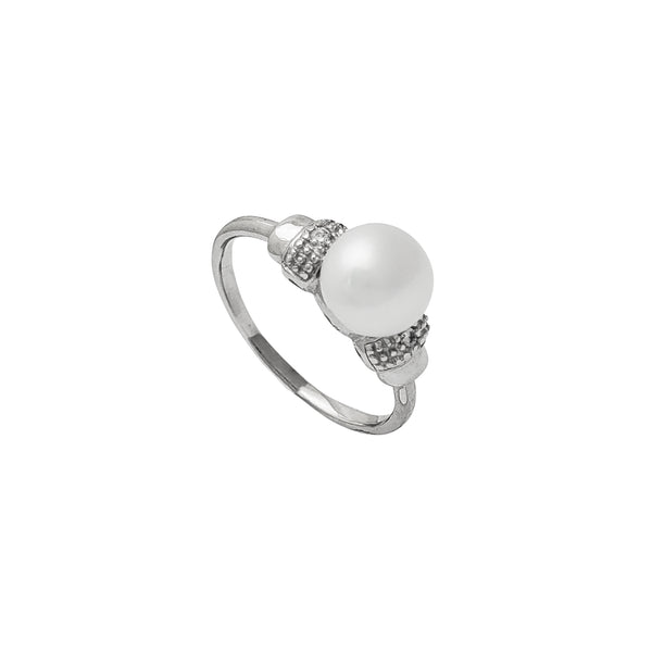 Pearl Lady Ring (Silver) Popular Jewelry New York