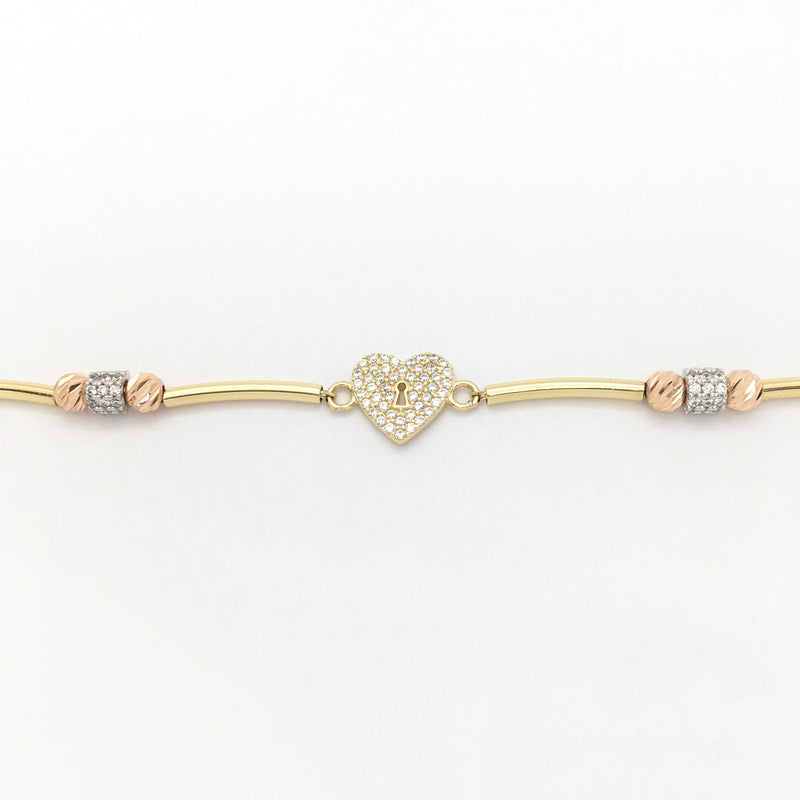 products/585-14-Karat-Tri-Color-Gold-Heart-Lock-Cubic-Zirconia-Bracelet-Front-Angle-View-Web-Product-Popular-Jewelry-Lucky-Diamond-New-York.jpg