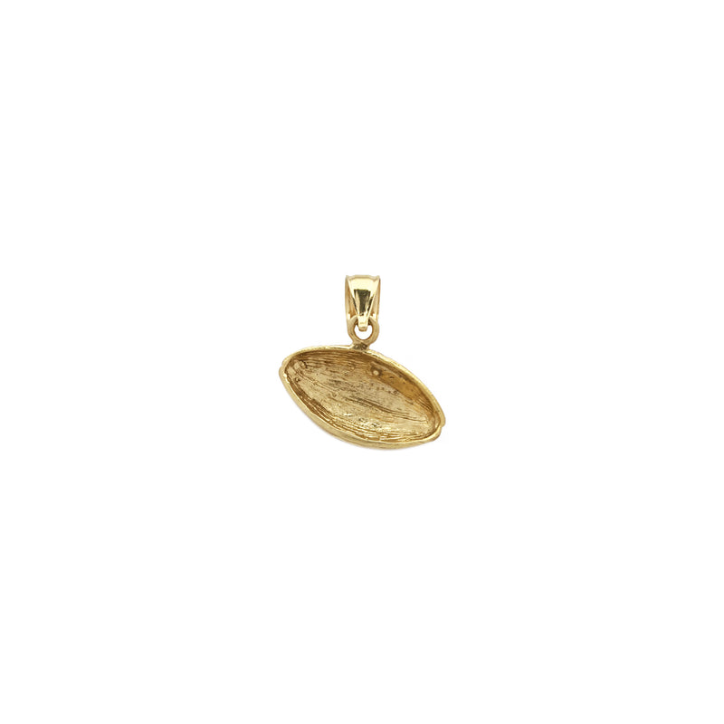 American Football Ball Diamond Cut Pendant (14K) - Popular Jewelry - New York