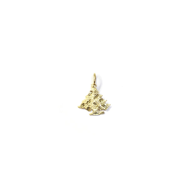 Christmas Tree Pendant (14K)