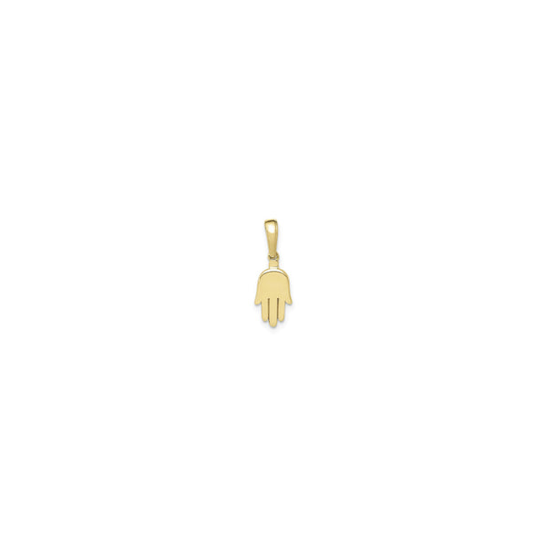 Hamsa Hand Plain Pendant (14K) virum - Popular Jewelry - New York