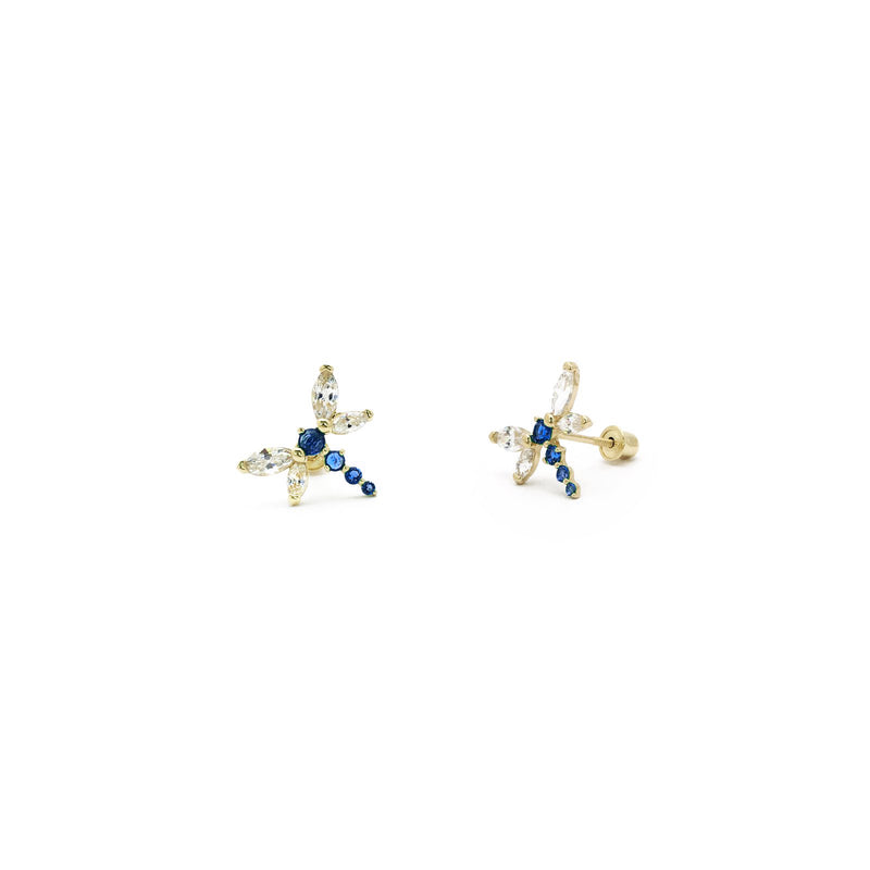 products/585_14_Karat_Yellow_Gold_Blue_Dragonfly_Cubic_Zirconia_Stud_Earring_Web_Product_Popular_Jewelry_New_York.jpg