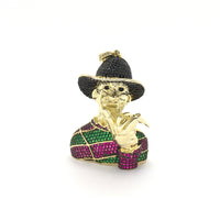 Freddy Krueger Iced Pendant (14K) - front - Popular Jewelry - New York