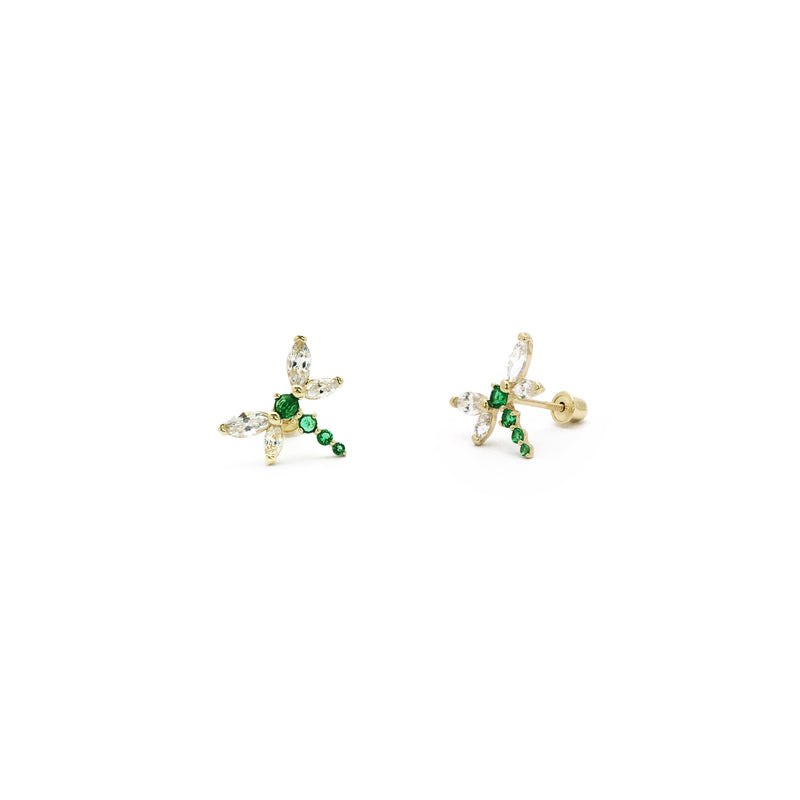 products/585_14_Karat_Yellow_Gold_Green_Dragonfly_Cubic_Zirconia_Stud_Earring_Web_Product_Popular_Jewelry_New_York.jpg