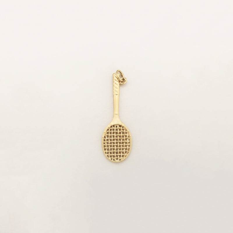 Racquet Pendant (14K) - Popular Jewelry - New York