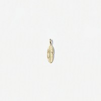 Feather Pendant (14K) - Popular Jewelry - New York
