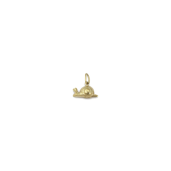 Snail Pendant (14K) left - Popular Jewelry - New York