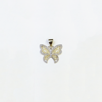 Butterfly Pendant (14K) Gold-agba abụọ - Popular Jewelry - New York