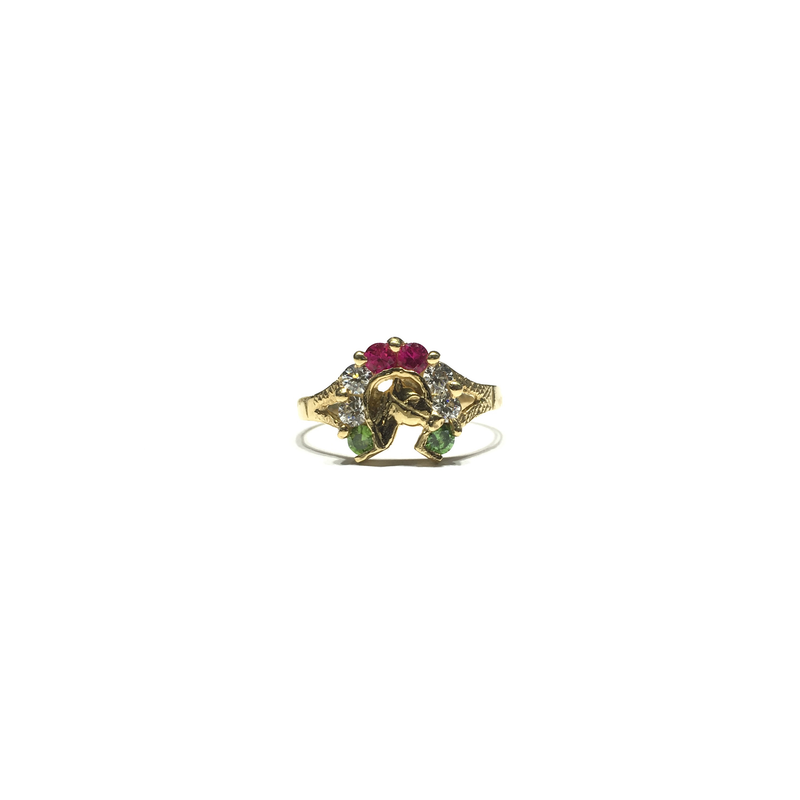 products/585_14_karat_Yellow_Gold_Horseshoe_Triple-Color_Cubic_Zirconia_Ring_front_angle_view_web_product_Popular_Jewelry_New_York.png