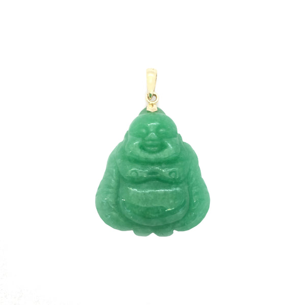 Privjesak Bude Jade Laughing (14K)
