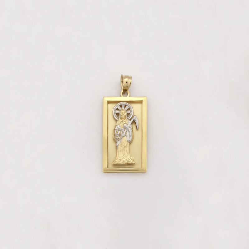 products/585_14_karat_Yellow_gold_Santa_Muerte_Square_Charm_Pendant_front_angle_view_web_product_Popular_Jewelry.png