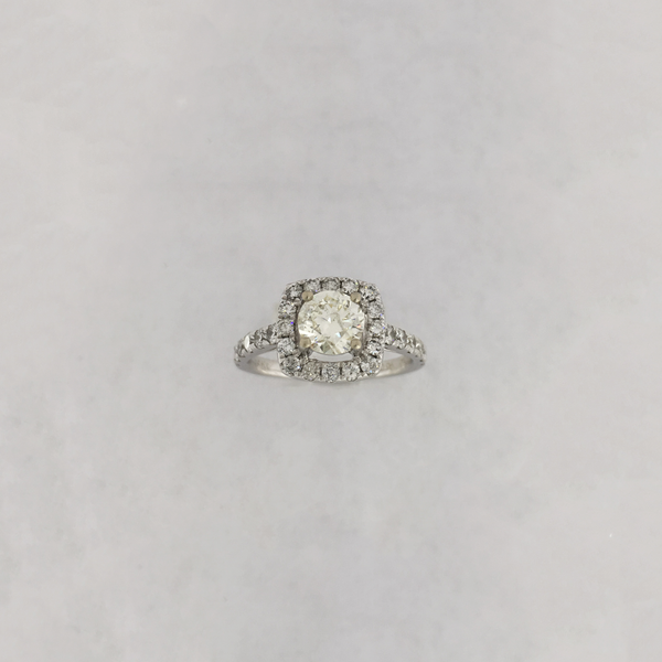 Diamond Engagement Ring (14K) - Popular Jewelry