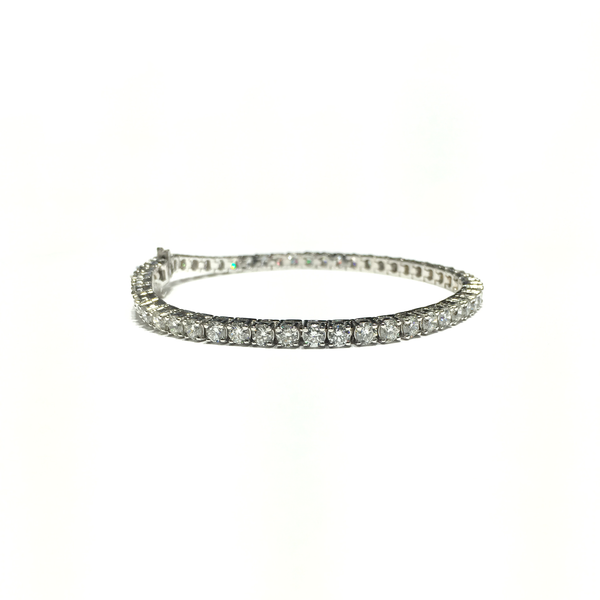 Brățară diamantă de tenis SI-1 (14K) - Popular Jewelry