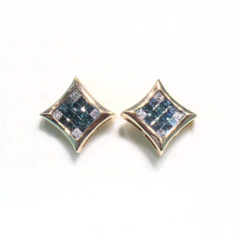 products/585_14_karat_yellow_gold_Blue_and_White_Square_Diamonds_Earring_front_angle_view_web_product_Popular_Jewelry_New_York.png