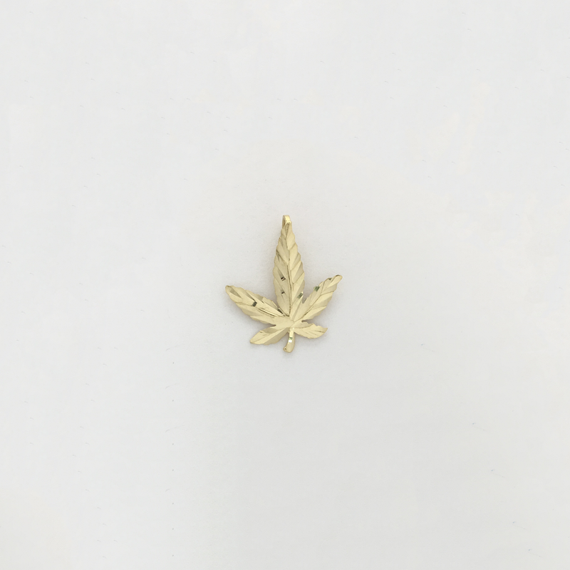 products/585_14_karat_yellow_gold_Cannabis_Leaf_Diamond_Cut_Pendant_front_angle_view_web_product_Popular_Jewelry.png