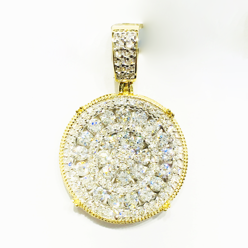 products/585_14_karat_yellow_gold_diamond_iced_out_medallion_pendant_micro_pave_setting_standing_angle_view_web_product_Popular_Jewelry.png