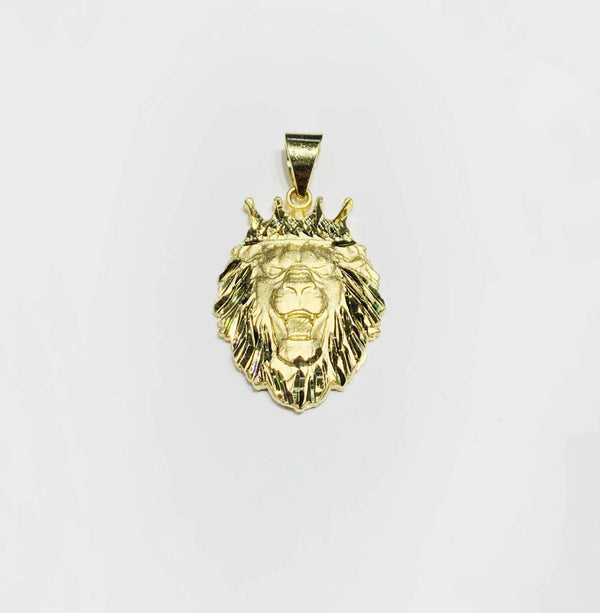 Lion Monarch Pendant (14K)