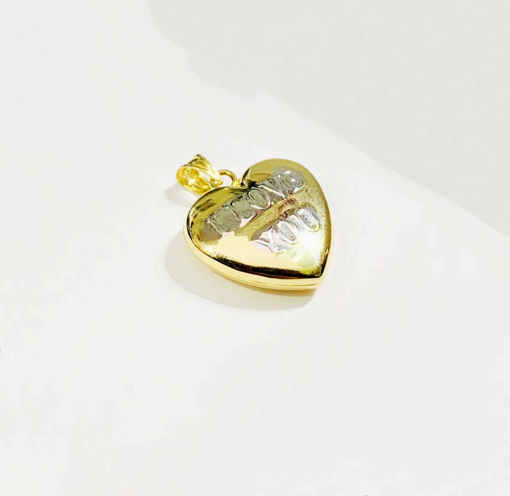 Little Heart pendant (14K).