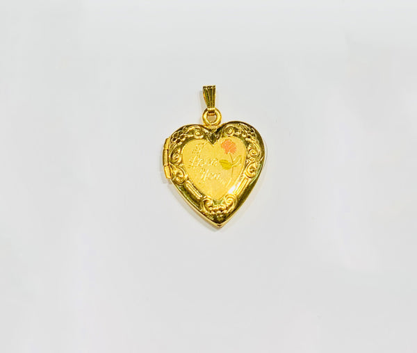 Heart Locket Pendant (10K).