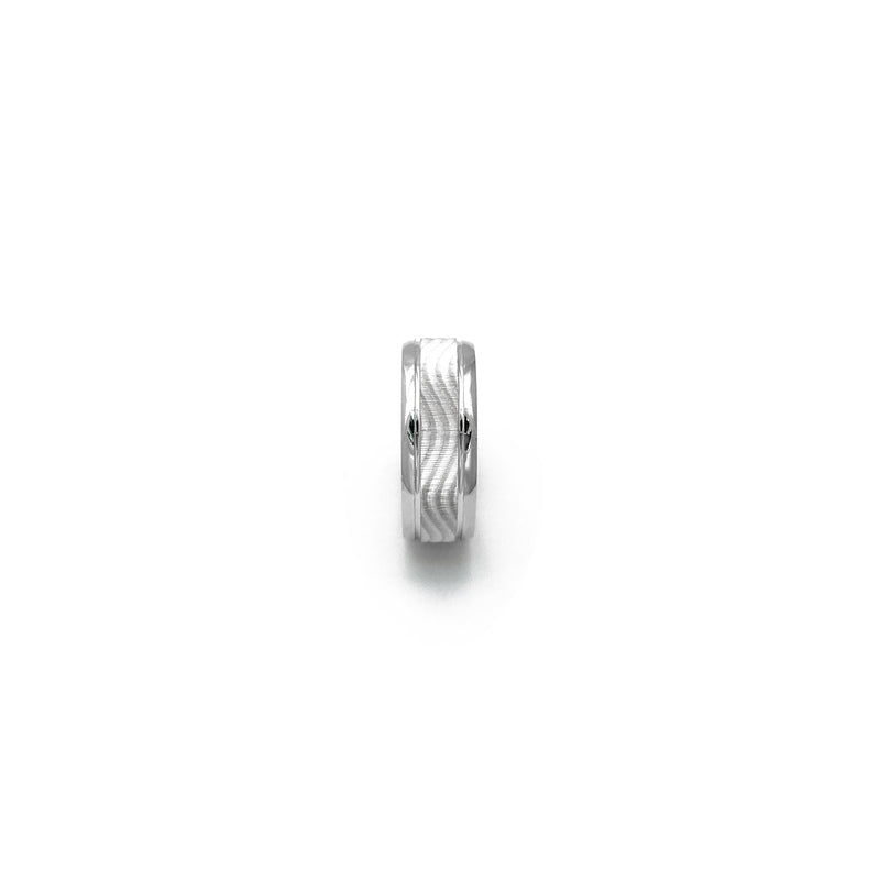Undulating Wave Ring (Silver) side - Popular Jewelry - New York