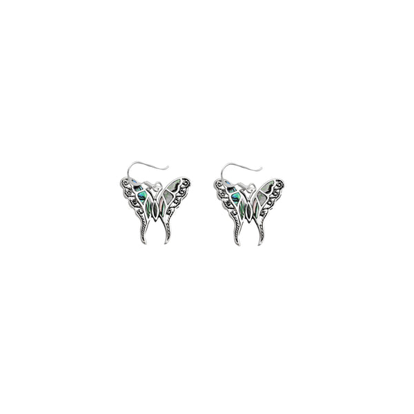 Fancy Butterfly Earring (14K)
