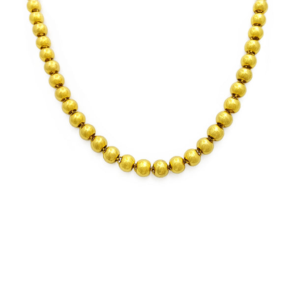 Ball Chain (24K) front - Popular Jewelry - New York