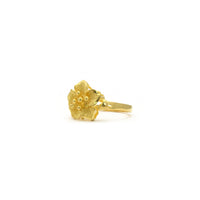 Flickering Cherry Blossom Ring (24K) side - Popular Jewelry - New York
