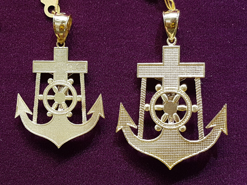 products/Anchor-Pendant-Jesus-White-Yellow-Two-Tone-Cut-10K-Gold-Multiple-Rear.jpg