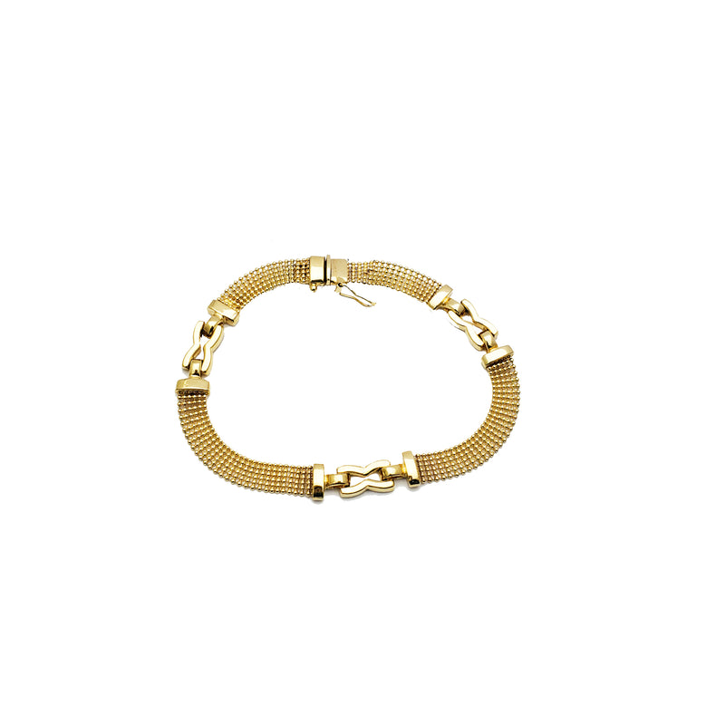 Yellow Gold Fancy Bracelet (14K)