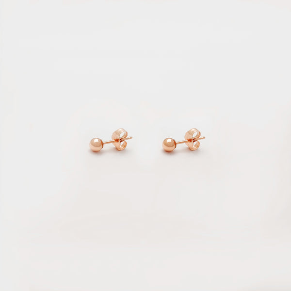 Ball Stud Earring (10K) Popular Jewelry New York