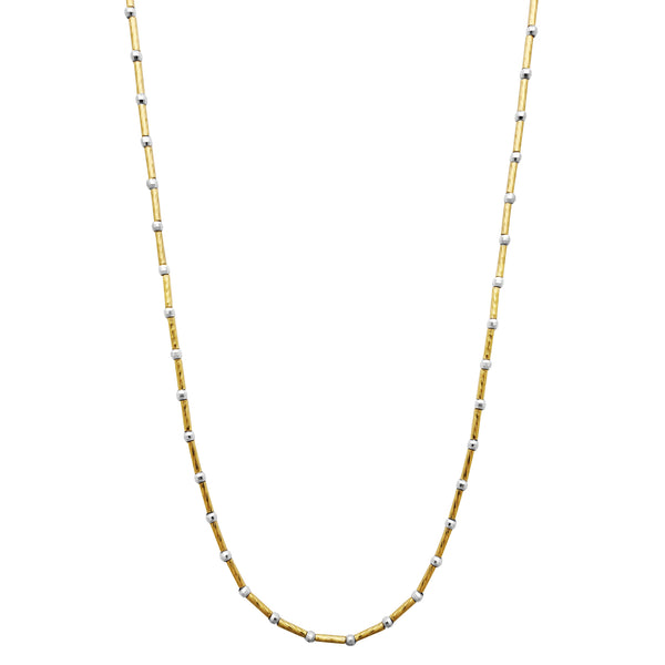 Ball Bar Chain (14K) Popular Jewelry New York