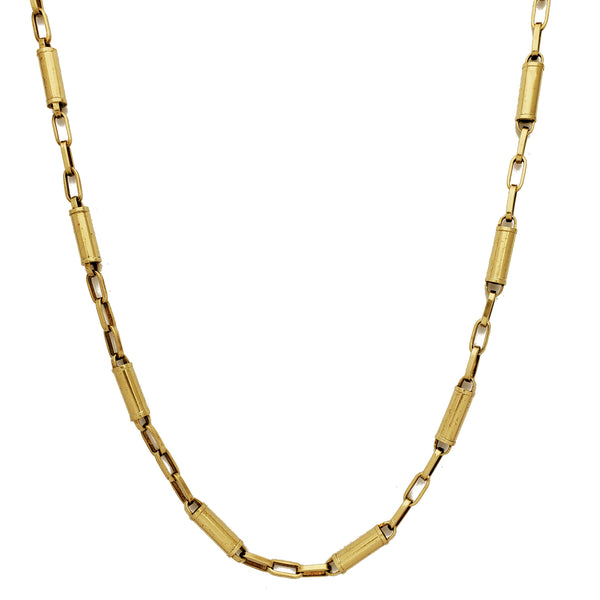 Bamboo Cable Chain (10K) Popular Jewelry New York