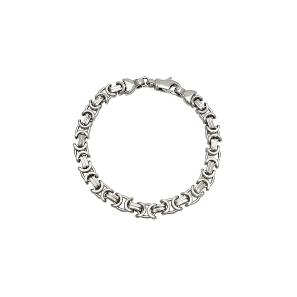 Bicycle Chain Bracelet (Silver)