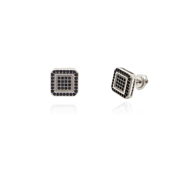 Earrings Square Nwa (Silver) Popular Jewelry New York