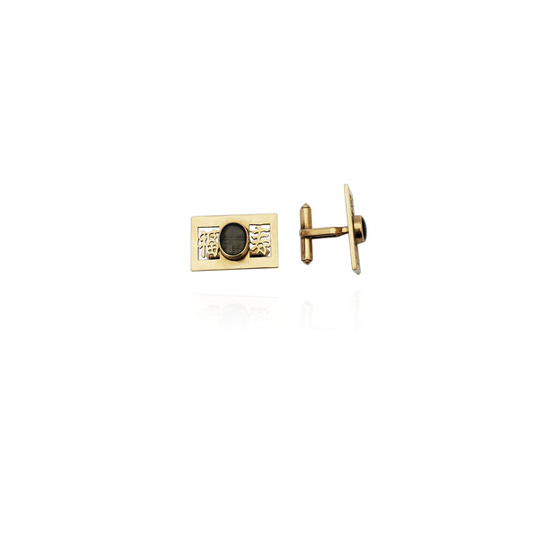 Blessing Cuff Link (14K) New York Popular Jewelry