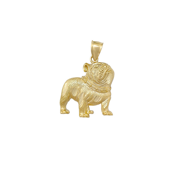 Bulldog Pendant (10K) Popular Jewelry New York