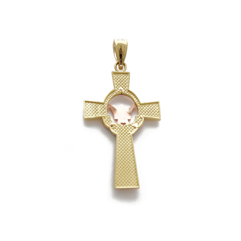 Claddagh Cross asoa (14K) Popular Jewelry Niu Ioka
