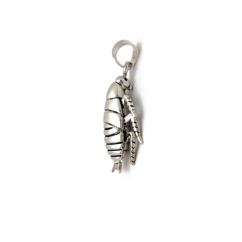 Cockroach Pendant (Silver) Popular Jewelry New York