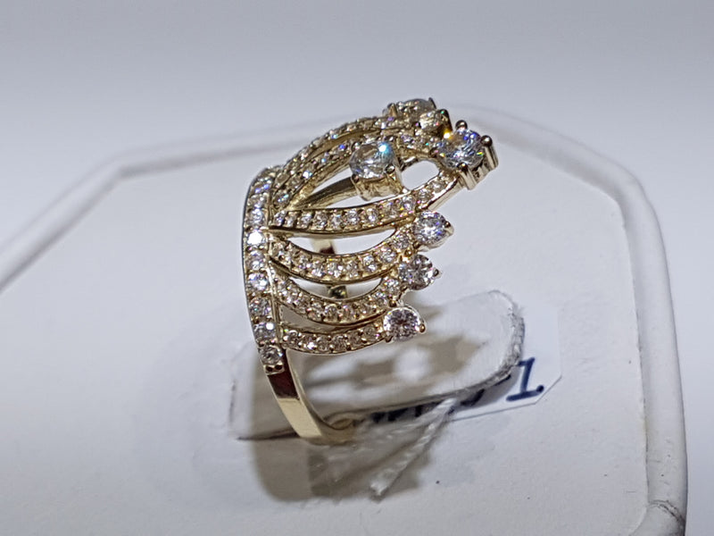 Tiara Cocktail Ring - Lucky Diamond 恆福珠寶金行 New York City 169 Canal Street 10013 Jewelry store Playboi Charlie Chinatown @luckydiamondny 2124311180