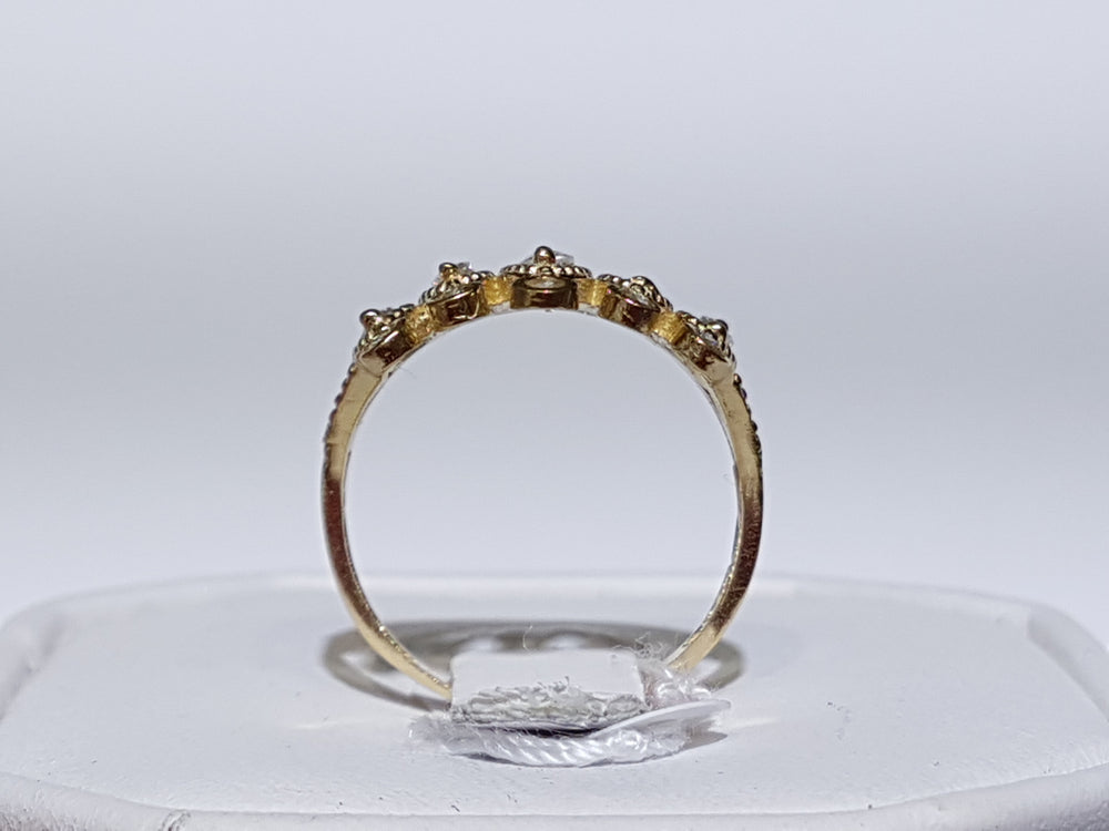 Tiara Cocktail Ring 14K - Popular Jewelry