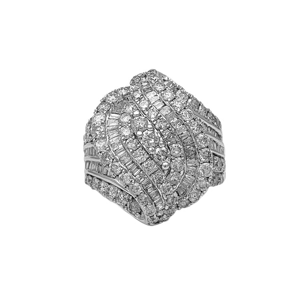 Diamond Cocktail Lady Ring (10K) Popular Jewelry New York