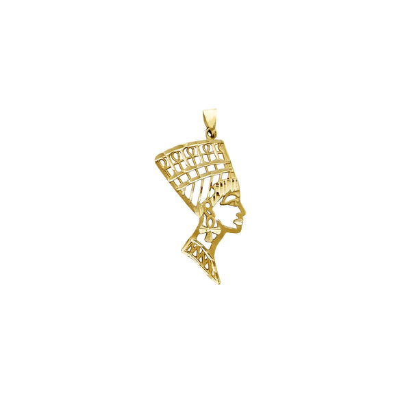 Diamond Cuts Nefertiti Pendant (14K) Popular Jewelry New York