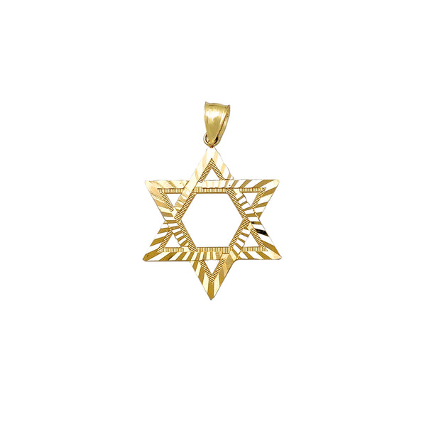 Small Diamond Cuts Star of David Pendant (10K) Popular Jewelry New York