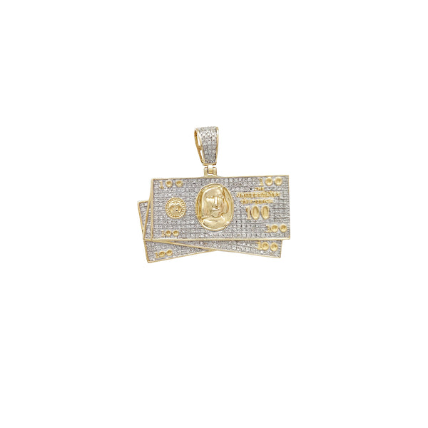 Diamond Pendant (10K) Popular Jewelry New York