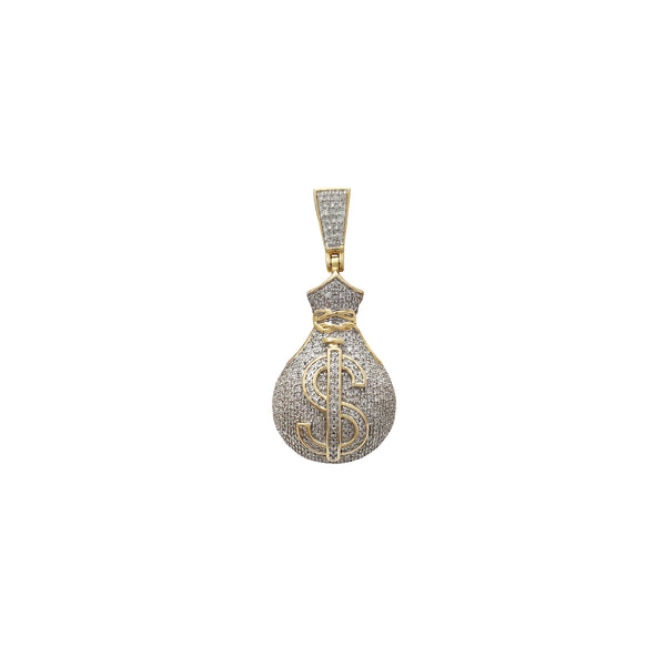 Akpa Ego Diamond Pendanti (10K) Popular Jewelry New York